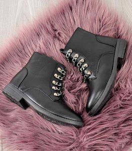 trapery damskie czarne