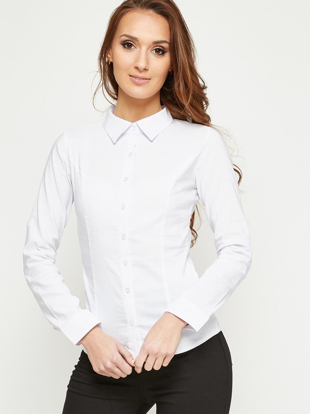 biała koszula damska